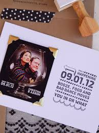 Funny Save The Date Christina Aaron U0027s Quirky