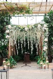 wedding arches flowers picture of lush greenery and flower wedding arch with hanging