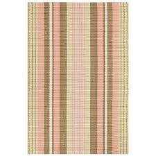 Pottery Barn Outdoor Rug Dennis Stripe Recycled Yarn Indoor Outdoor Rug Brown Pottery Barn