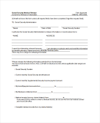 10 medical release forms free sample example format free
