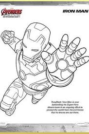 iron man ready ultimate weapon coloring coloring pages