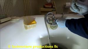 old clawfoot tub valve leaking youtube