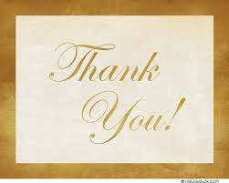 thank you card anniversary celebration thanks