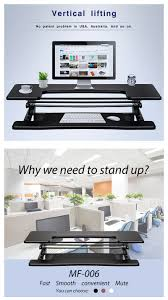 Computer Stand Up Desk by 2017 Innovative Modern Office Standing Desk Preassembled
