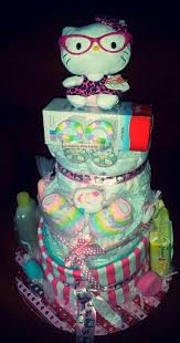 kitty diaper cake kitty diaper cakes