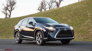 lexus dealer brisbane lexus rx 450h launched in india at rs 1 07 crore team bhp