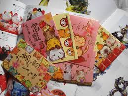 new years envelopes bulk sale kawaii lucky cat new year packet envelopes