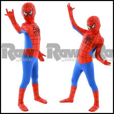 Boys Spider Halloween Costume Kids Boy Spider Man Role Playing Clothing Halloween Party