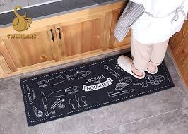 Washable Kitchen Rugs Eco Friendly Washable Kitchen Rugs Heat Transfer Print Oem Odm