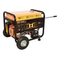 dek pro series 10 000 watt commercial duty generator with electric