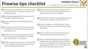 sparky and nfpa u0027s wildfire safety checklist for kids and parents