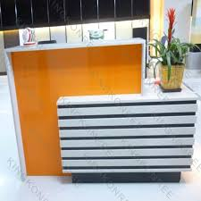 Pop Up Reception Desk Office Information Counter Office Information Counter Suppliers
