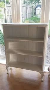 A Bookcase White Bookshelf With Doors Foter