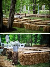 Backyard Country Wedding Ideas Country Chic Wedding In Memphis Tennessee Ceremony Seating