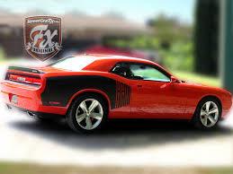 Dodge Challenger 4 Door - dodge challenger stripes racing stripes r t graphics u2013 streetgrafx