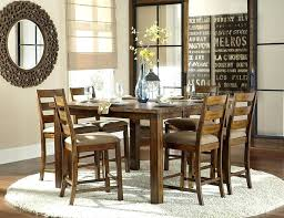 Bar Height Dining Room Sets Dining Table Stanton 5 Piece Counter Height Dining Set In Rich