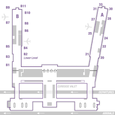 American Airlines Floor Plan American Airlines Tulsa International Airport