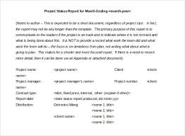 how to write a monthly report template 19 monthly report template free sle exle format