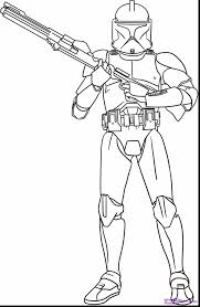 wonderful star wars clone coloring pages with star coloring pages
