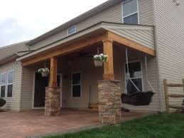 covered porch stunning covered porch all cedar trim and tongue groove ceiling