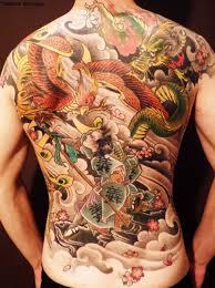 japanese dragon tattoo hd wallpaper