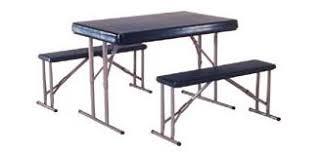 so 2400 4 pack lifetime 4 ft camping folding sport tables u0026 bench set