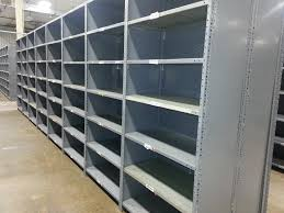 Metal Shelves For Storage New U0026 Used Industrial Steel Shelving Republic Clip Style