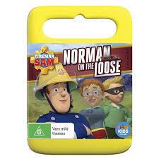 fireman sam norman loose dvd kmart