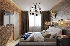 Chandelier Room Decor Bold Industrial Meets Rustic Bedroom Decor Digsdigs