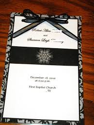 bling wedding programs bernadine s could you not take all the bling in 39s