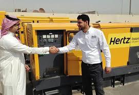 hertz light tower rental hertz dayim equipment rental opens riyadh branch