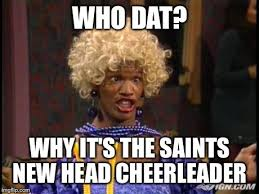 New Orleans Saints Memes - image tagged in new orleans saints wanda nfc nfl imgflip