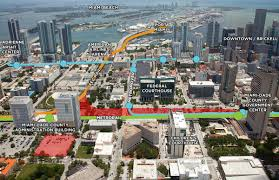 Miami City Map by The Future Of The Public Transportation System In Miami Dade