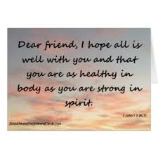bible verses for greeting cards 3 john 1 2 dear friend