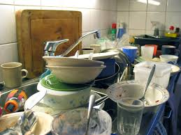 A Treatise On Doing The Dishes RealClearScience - Dirty kitchen sink
