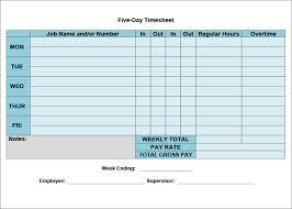 timesheet spreadsheet trend markone co
