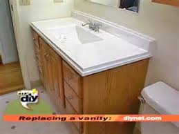 Install A Bathroom Vanity by How To Replace A Bathroom Vanity How Tos Diy Replace Bathroom