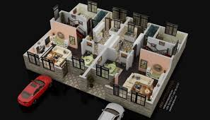 Maisonette Floor Plan 3d Floor Plan Visualzation Of A Maisonette Oti Otieno Pulse