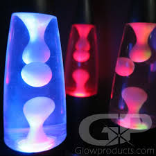 color changing lava l mini lava ls with color changing lights glowproducts com