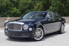 black bentley sedan 2014 bentley mulsanne stock 4n018866 for sale near vienna va