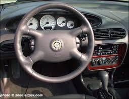 2004 Chrysler Sebring Convertible Interior The Original Chrysler Sebring Convertible 1996 2000