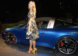 miami blue porsche targa haute living celebrates cover launch with porsche and maria