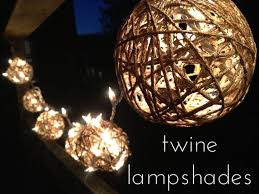 Light Up Balls On String by Twine Ball Lamp Shades 5 Steps With Pictures