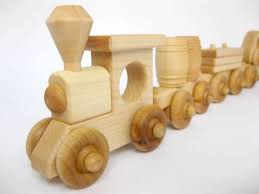Build Your Own Wooden Toy Train by