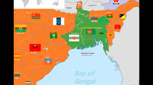 map of bangladesh in east india region partition of india youtube
