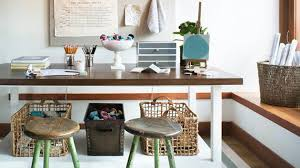 counter height craft table 16 crafting table with storage to indulge in creativity home
