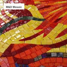 tile murals for kitchen backsplash made custom mural wall sunflower jade glass mosaic tile
