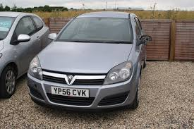used vauxhall astra life silver cars for sale motors co uk