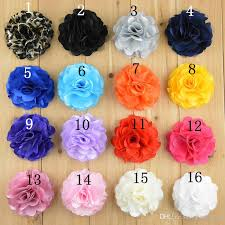 flower decoration for hair hot sell 8cm infant baby flower corsage flower foot flower