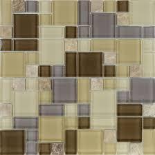 crystal mosaic tile backsplash kitchen design glass u0026 stone blend